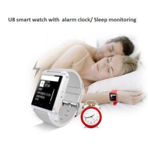White 230mAh Zd09 Smart Watch with Alarm Clock