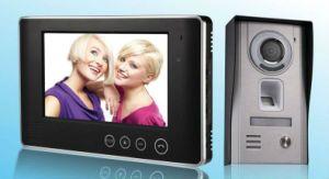 7 Inch Fingerprint Video Door Phone for Building Intercom System pictures & photos