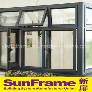 Luxury Aluminium Casement and Top Hung Window Wall System pictures & photos