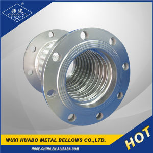 Flexible Braided Corrugated Metal Hose with Flanges pictures & photos