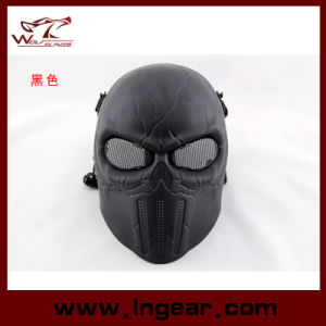 Punisher Skeleton Airsoft Mask Scary Ghost Mask for Halloween pictures & photos