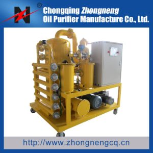 Double-Stage High Vacuum Transformer Oil Reconditioning Plant pictures & photos