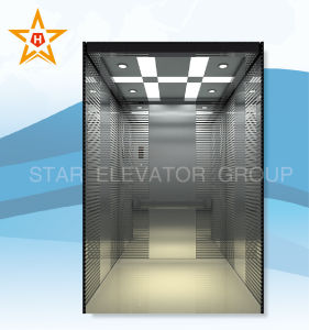 Passenger Elevator with Mirror Ecthing New Design Xr-P44