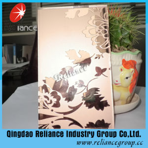 Art Glass/Decorative Glass/Acid Etched Mirror and Glass with ISO pictures & photos