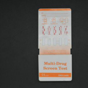 Diagnostic Medical Group One Step 5-Drug in 1 Rapid Test Cassette Machinery pictures & photos