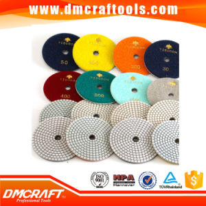 Wet&Dry Use Diamond Polishing Pads Stone Polishing Pads pictures & photos