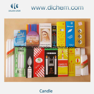Paraffin Wax Pillar Candles Factory Supplier in China pictures & photos