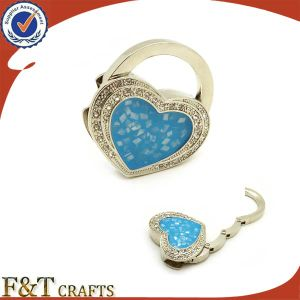 Bag Hanger with Butterfly and Artificial Diamond pictures & photos