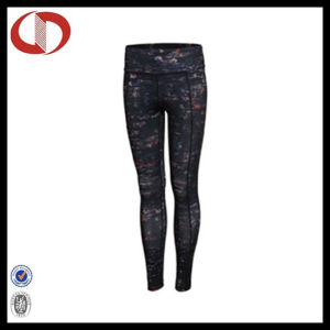 New Pattern Printed Breathable Seamless Fitness Sports Leggings for Ladies pictures & photos