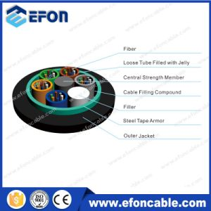 Hot Sale GYTS Steel Tape Armored Fiber Optical Cable /Fibra Optica pictures & photos
