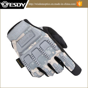 Esdy Full-Finger Military Tactical Outdoor Sports Acu Hunting Cycling Gloves pictures & photos