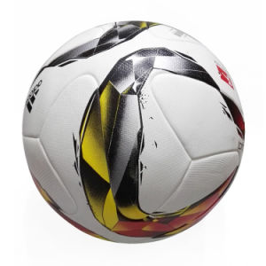 The New 2016 Bundesliga Football High-Quality PU Particle Grain Standard No. 5 Game Ball pictures & photos