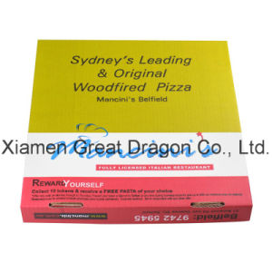 Locking Corners Pizza Box for Stability and Durability (PB160610) pictures & photos
