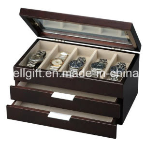 Wooden Watch Box with Dresser Valet pictures & photos