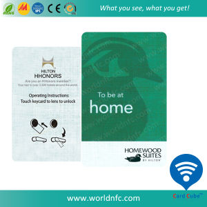 13.56MHz Ultralight PVC RFID Smart Plastic Card for Access Control pictures & photos