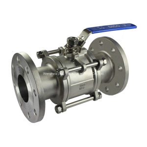 CF3 3PC Flange Ball Valve Dn40 Pn16 Price pictures & photos