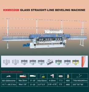 Glass Straight-Line Edge Processing Machine Manufacturer (HZM9325B) K42 pictures & photos