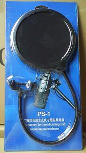 "Mpf-2 Broadcasting / Recording / Karaoke Microphones - 6"" Diameter Pop Filter Wind Screen pictures & photos"