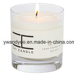 Scented Natural Soy Luxury Glass Jar Candle with Thick Bottom pictures & photos