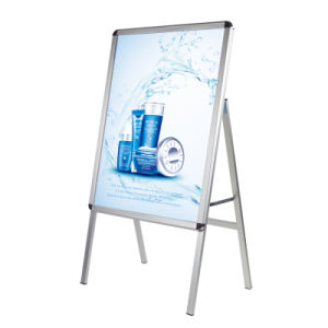 a Master Pavement Sign Snap Frame Open Single Sided pictures & photos