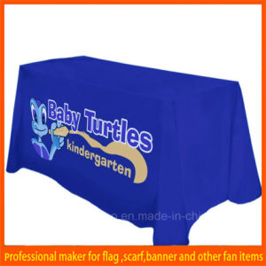 Promotioanl 6ft Advertising Table Cloth Cover pictures & photos