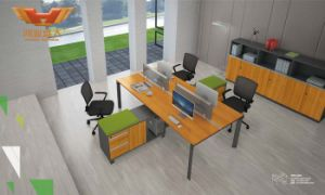 Hot Sale Office Modular Workstation in Cross Design (H50-0205) pictures & photos