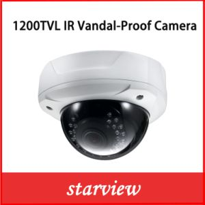 1200tvl IR Vandalproof Varifocal Lens CCTV Dome Security Camera (D21) pictures & photos