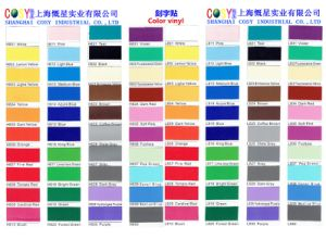 Removable Self Adhesive PVC Glossy Vinyl Sticker for Cutting Plotter pictures & photos