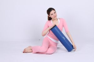 EVA Foam Yoga Pilate Roller with PU Leather Cover pictures & photos