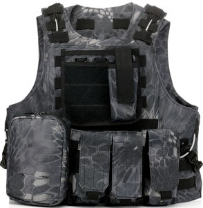 Military Gear Molle Combat Soft Safety Protective Army Tactical Vest pictures & photos
