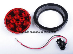 "4"" Round LED Tail Light for Trailers pictures & photos"