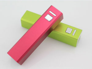 Power Bank for Mobile Phone Porable External Battery Charger 2600mAh pictures & photos