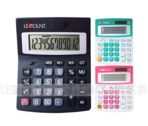12 Digits Medium Size Dual Power Desktop Calculator (LC229)
