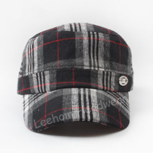 Wholesale Check Winter Warm Military Army Cap/Hat pictures & photos