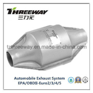 Car Exhaust System Three-Way Catalytic Converter #Twcat017 pictures & photos