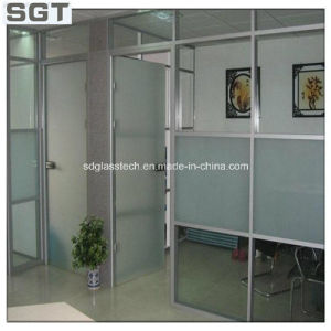 Toughened Acid Etched Glass 10mm for Frameless Door pictures & photos