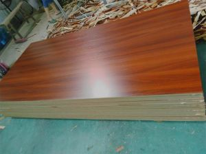 High Quality Wood Grain Melamine MDF pictures & photos