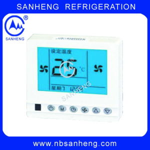 24V AC LCD Programmable Room Thermostat pictures & photos