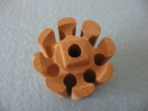 High Quality Refractory Cordierite Ceramic Part for Kiln Furnitures pictures & photos
