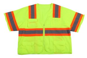 New Style High Visibility Safety Reflective Shirt with Sleeve (DFJ015) pictures & photos