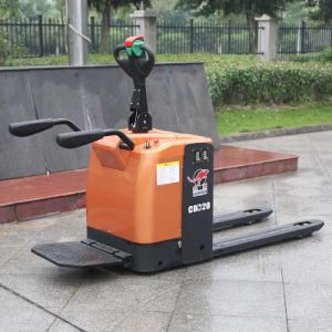China Manufacturers 2t Small Full Electric Pallet Truck (CBD20) pictures & photos
