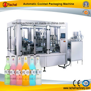 Automatic Cocktail Beverage Filling Capping Machine pictures & photos