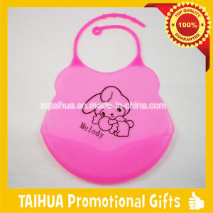 Custom Wholesale Price Soft Waterproof Silicone Baby Bib pictures & photos