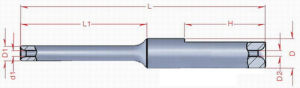 Precision Nozzle (W0635-2-1510) with Tungsten Carbide Material pictures & photos