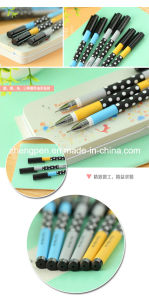 High Quality Plastic Gel Ink Pen, Logo Printed Cheap Promotional Ball Pen