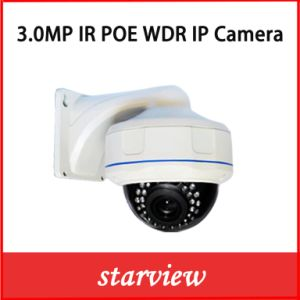 3MP WDR Poe IP Vandal-Proof Dome Zoom Lens Camera pictures & photos