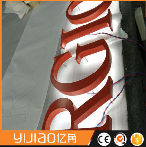 High Luminance Halo Lit Nice Stainless Steel Letters pictures & photos
