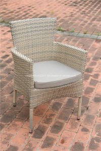 Outdoor Rattan Rectangle Dining Table and Garden Wicker Chair pictures & photos