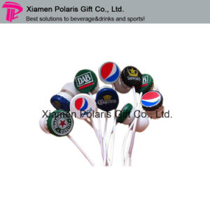 Personalized Beer Bottle Cap Design in-Ear Earphone pictures & photos