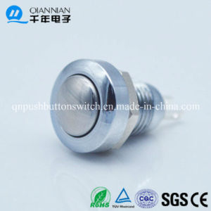 8mm Momentary Mini Waterproof Domed Head Push Button Switch pictures & photos